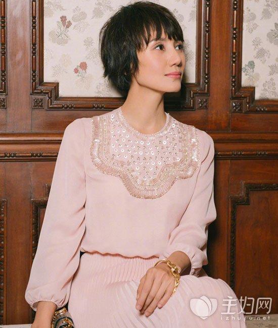 袁泉短发发型图片