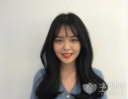 长卷发发型图片2018款