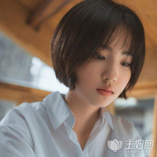韩式短发趋势图片2018年流行发型造型短发烫发造成会是否v短发图片
