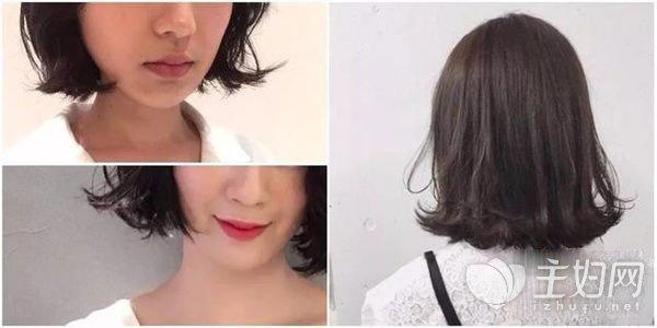 韩式短发发型图片