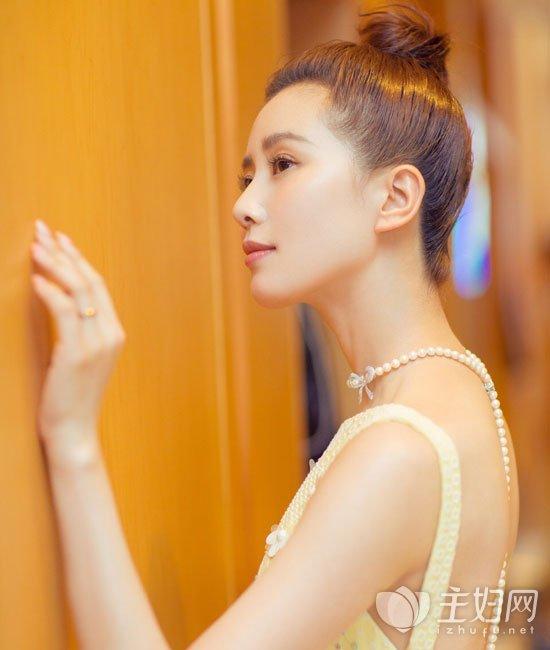微博之夜刘诗诗短发发型