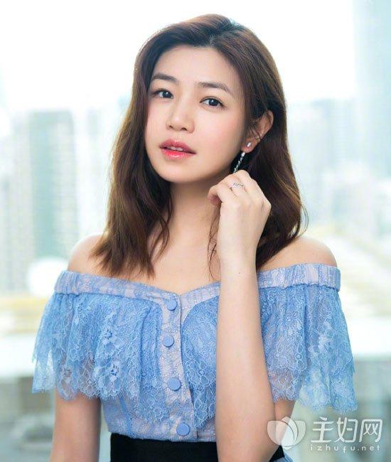 陈妍希发型图片