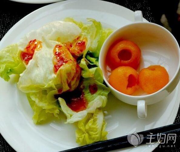 多吃有颜色的蔬菜水果