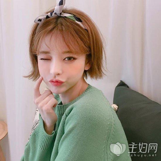 韩式短发发型