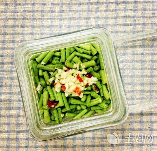 酸豆角的腌制方法