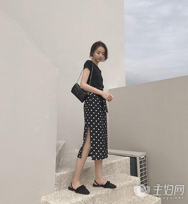 腿粗穿什么半身裙显瘦