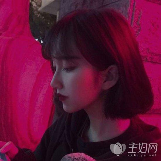 空气刘海短发qy88千赢国际【欢迎您】图片