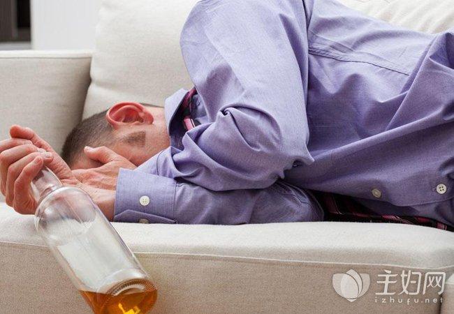 喝酒之后这样睡觉是很危险的