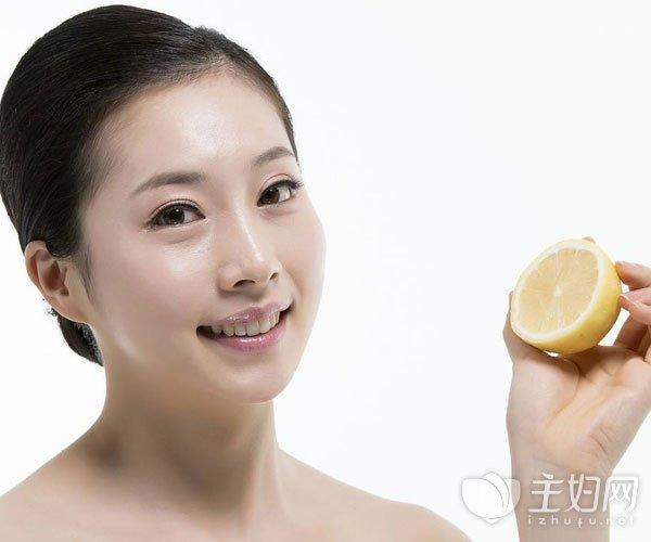 柠檬怎么吃美白皮肤