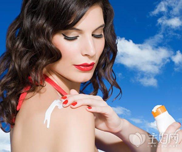 防晒霜的正确使用方法