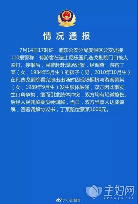 上海迪斯尼打人事件,教育孩子的方法和经验
