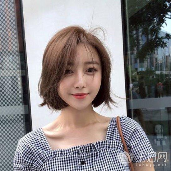 齐脖短发发型图片