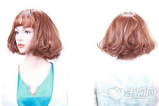 中长发的发型