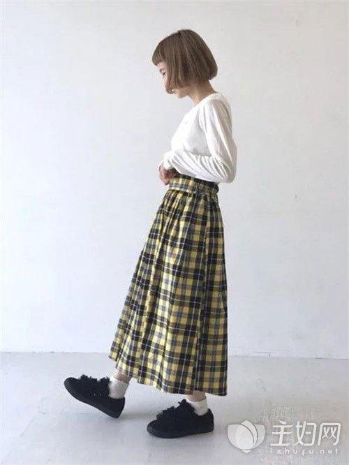 半身裙搭配