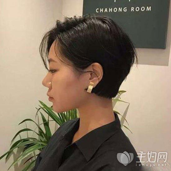 齐耳短发发型