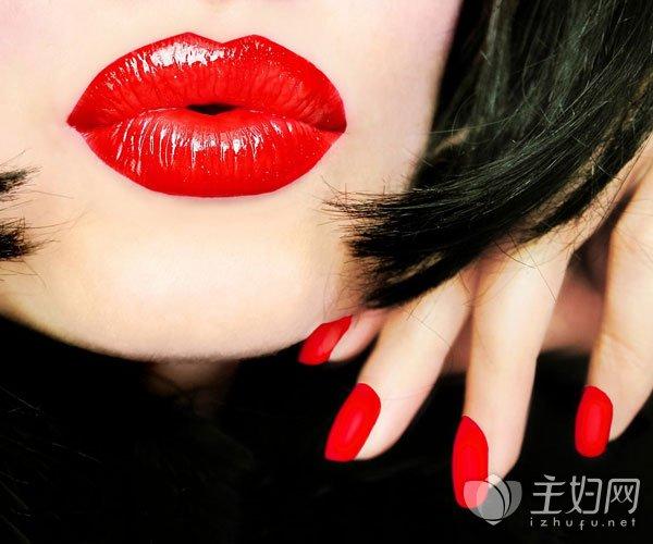 枫叶红色口红