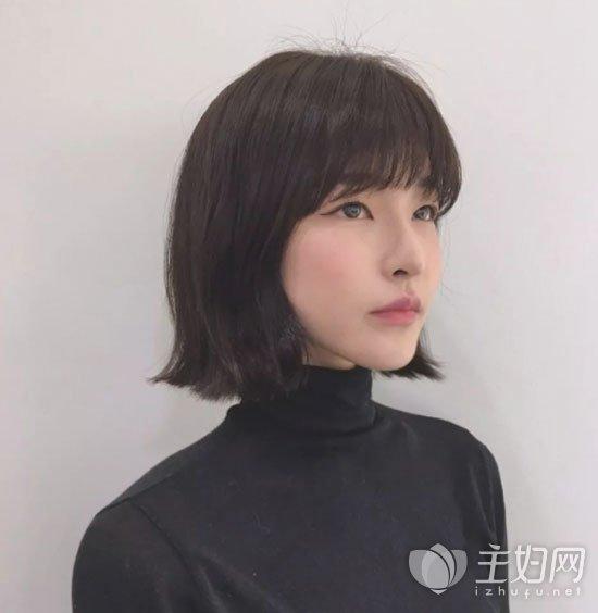 短发刘海发型