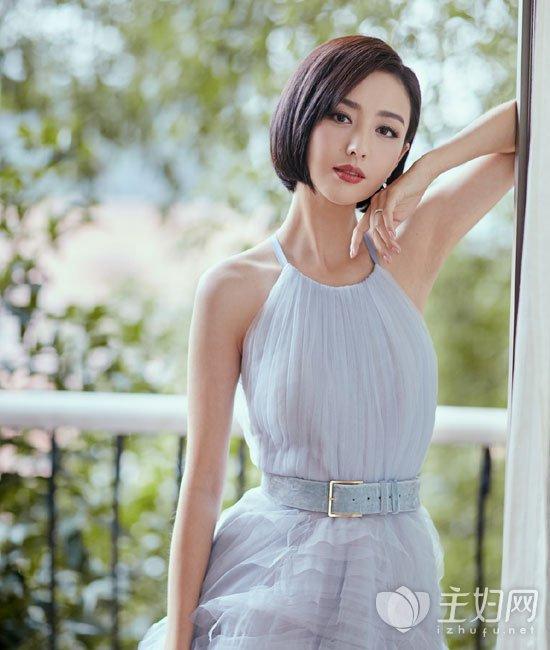 佟丽娅金鹰节发型