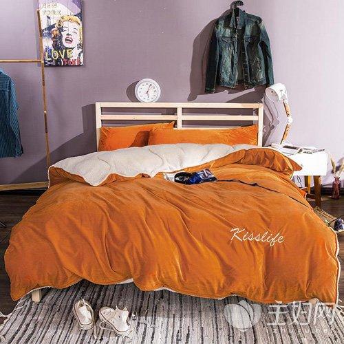 冬天用什么颜色的床单,冬天铺什么颜色床单好