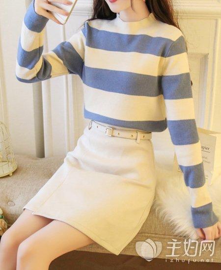 秋冬毛衣服装搭配