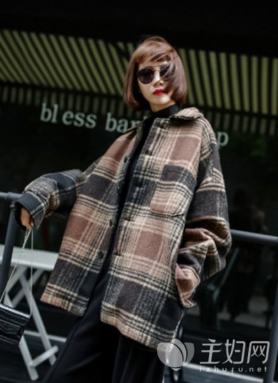 今年冬天流行什么外套
