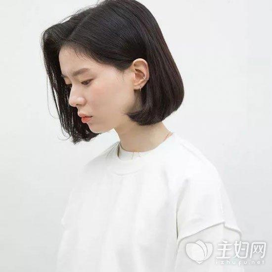 齐脖短发发型