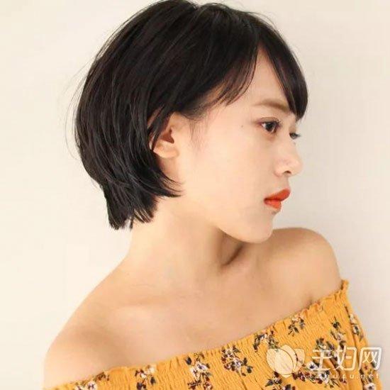 中性短发发型