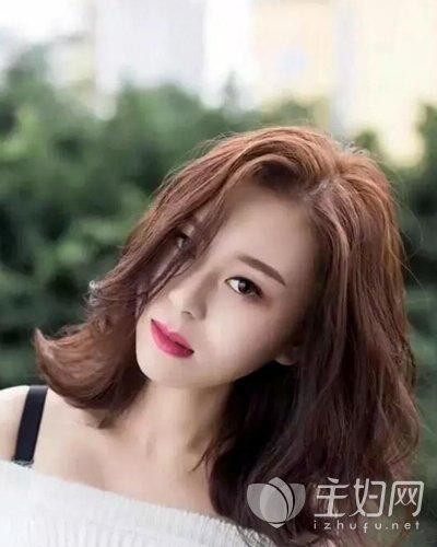 钻石脸适合什么刘海