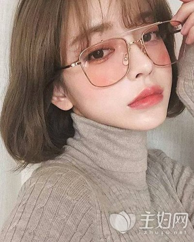2019适合圆脸妹纸的发型 依旧时髦显脸小图片