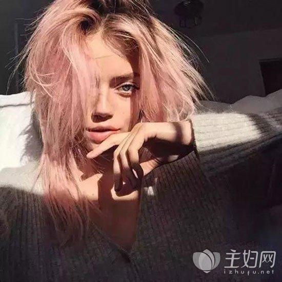 粉红色头发