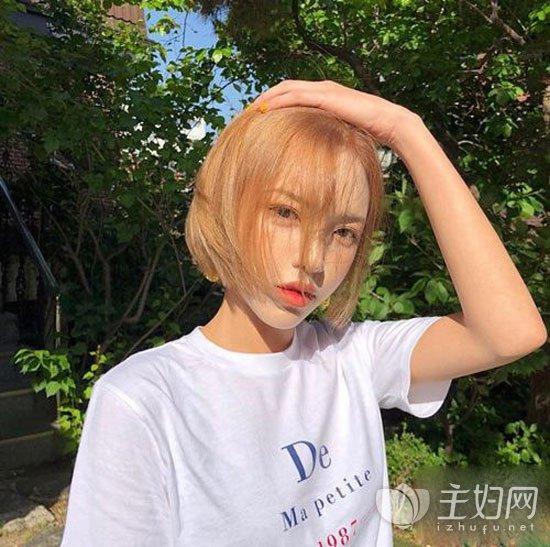 2019女生精选短发短发打理春节短发女生适合脸胖男流行造型吗图片