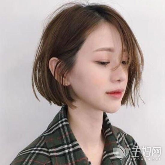2019女生烫发短发短发打理春节女生造型冷烫流行用精选水吗图片