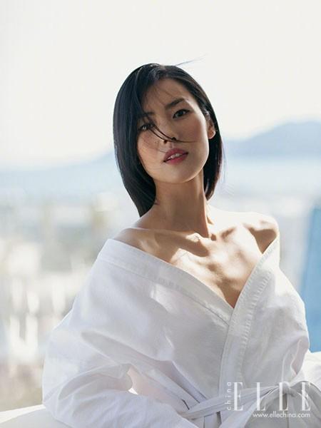 刘雯的时尚大片