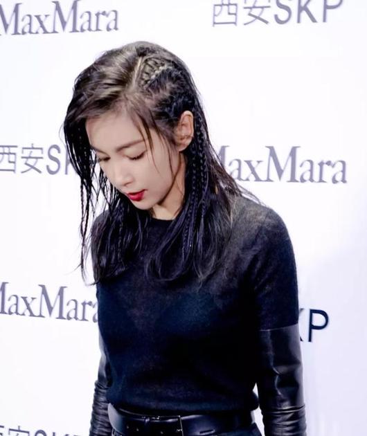 李冰冰新发型