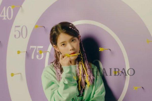 李知恩 (IU) 出道十周年新歌MV造型