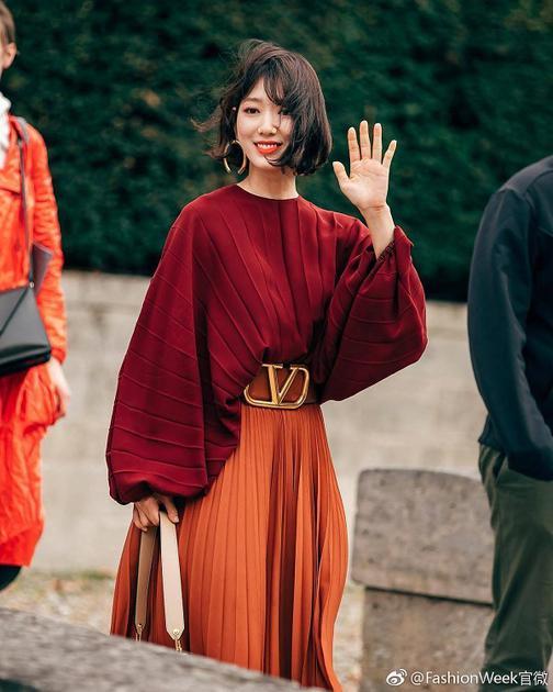 图片来历 微博 @FashionWeek官微