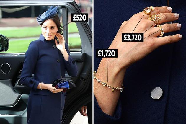 梅根佩带的Pippa Small珠宝及价格
