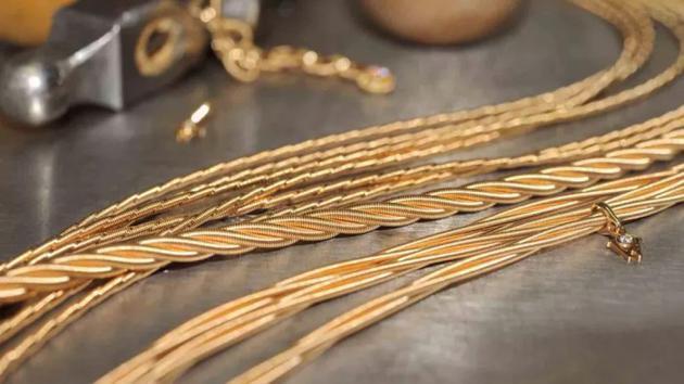 """""""织造""""成形的金子"""