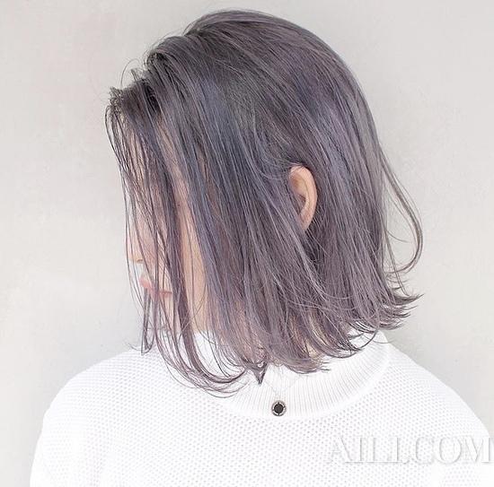 紫色彩头发