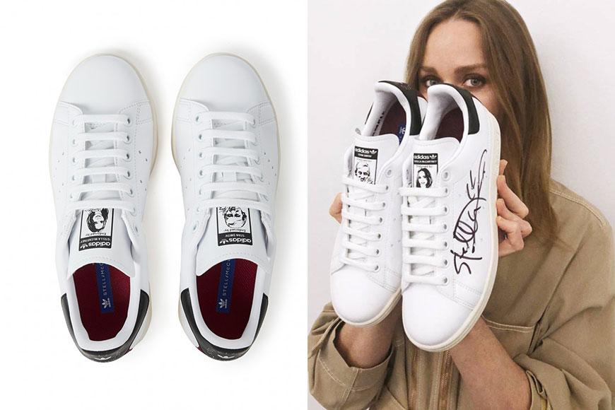 设计师 Stella McCartney 联手 adidas Originals 推出首双纯素皮革 Stan Smith