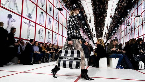 Dior 2019秋冬系列(图片来历:Vogue Runway)