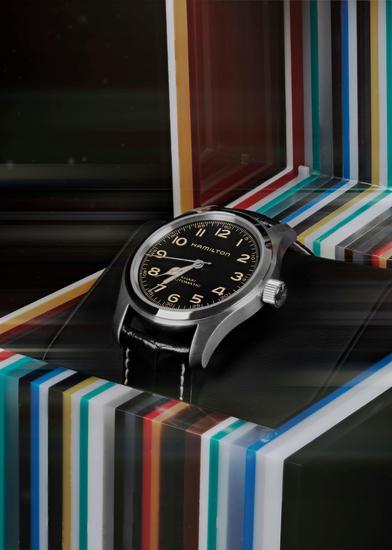 汉米尔顿卡其野战系列Murph腕表与定量版表盒套装
