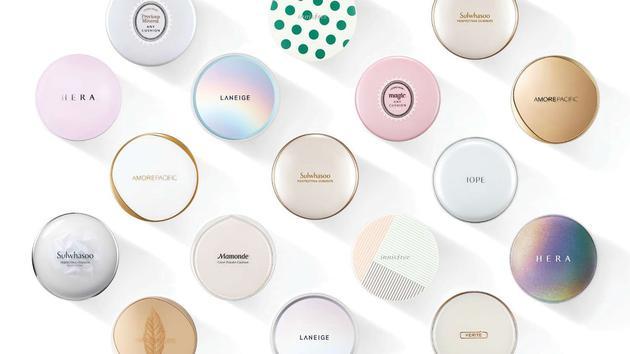 爱茉莉和平洋集团旗下品牌的气垫型产品