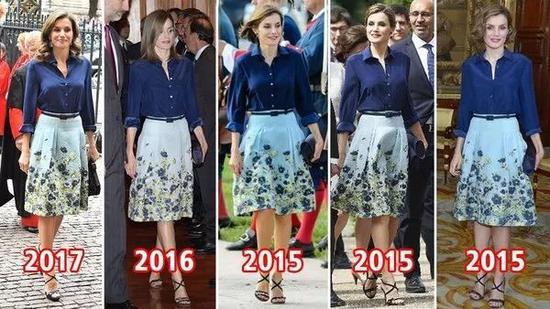 西班牙莱蒂齐亚王妃(图片来源于dailymail)