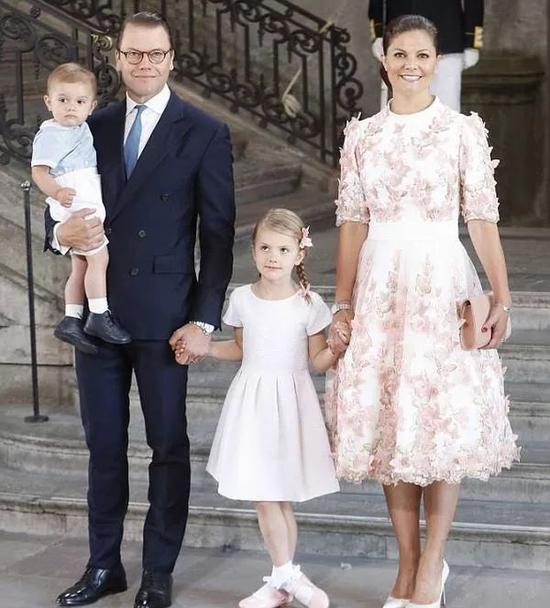 瑞典维多利亚女王储(图片来源于dailymail)