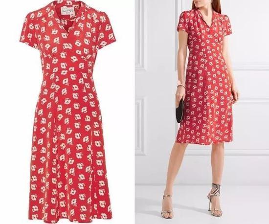单品引荐:HVN连衣裙 3905元(图片来源于品牌官网)