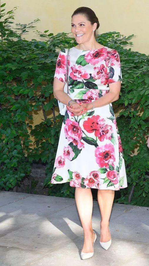 瑞典维多利亚女王储(图片来源于popsugar)