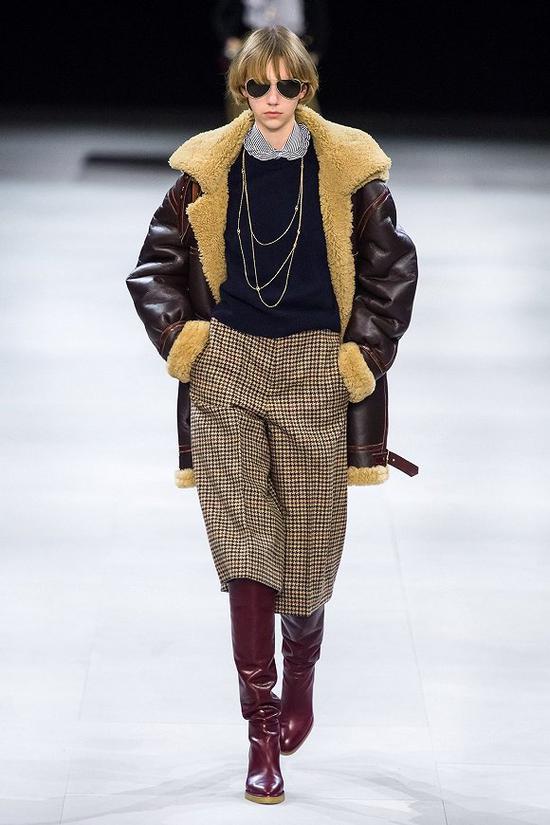 CELINE 2019秋冬系列 图片来历:Vogue