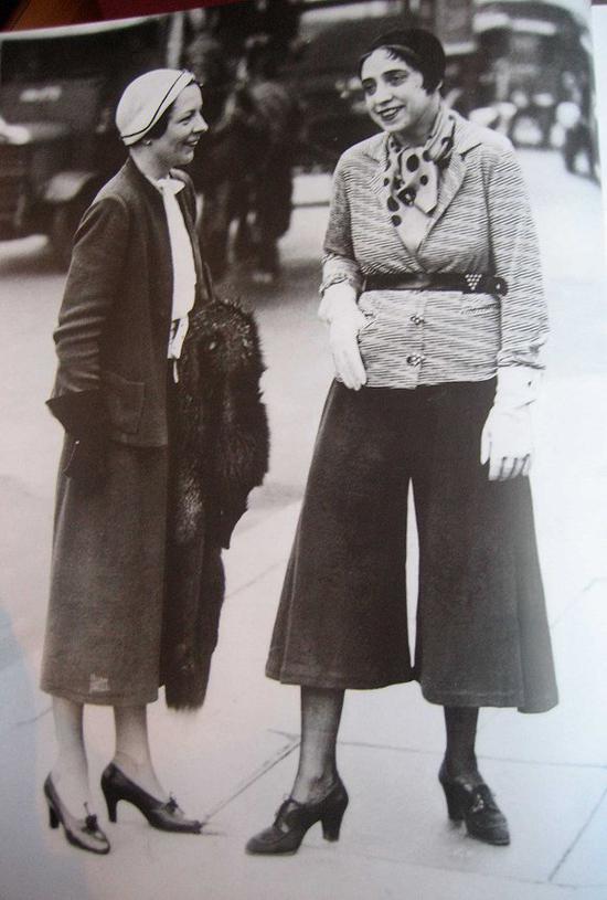 Schiaparelli规划的阔腿裤 图片来历:Image