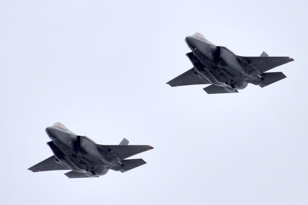 ▲日本空自F-35A隐身战机编队